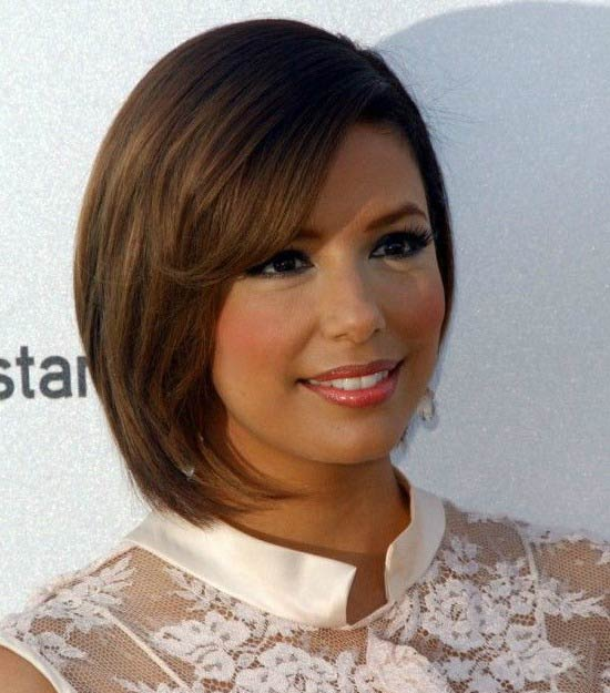 Eva Longoria Bob Haircuts for Fine Hair