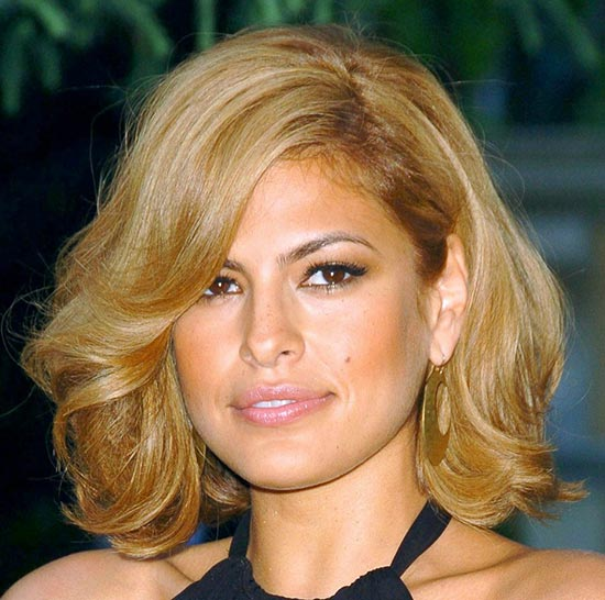 Eva Mendes Long Bob Hairstyles