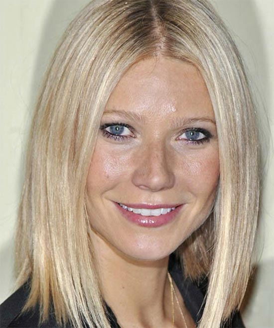 Gwyneth Paltrow Long Bob Hairstyles