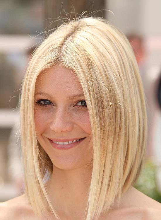 Gwyneth Paltrow Medium Length Haircuts for Thick Hair