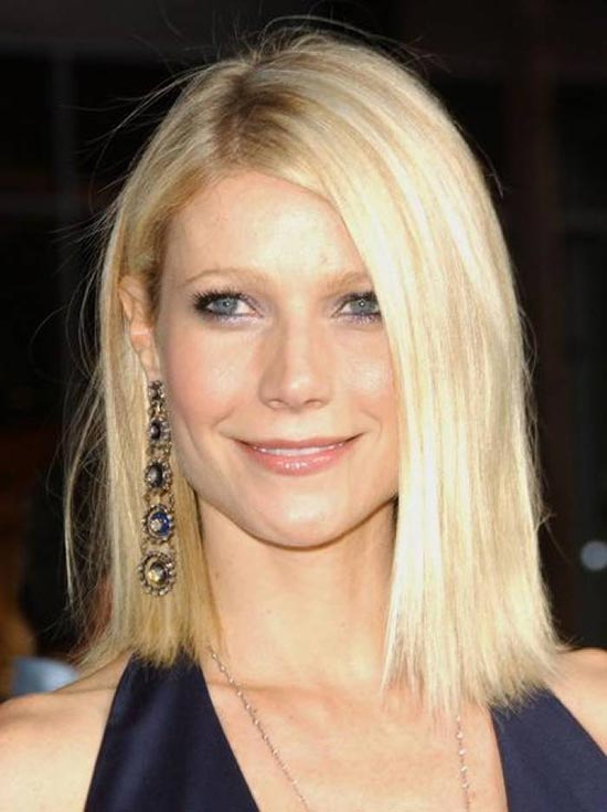 Gwyneth paltrow Blunt Bob Hairstyles