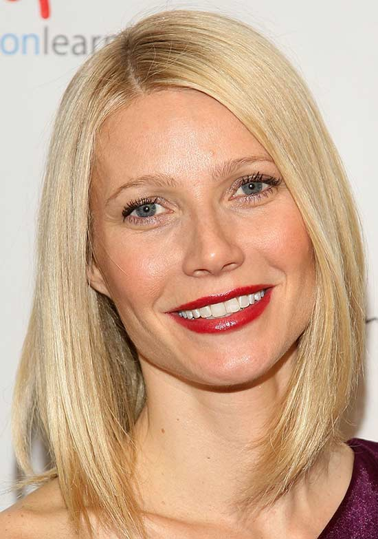 Gwyneth paltrow Medium Bob Hairstyles