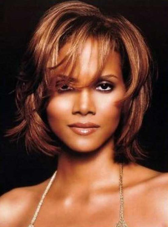 Halle Berry Bob Haircuts for Fine Hair