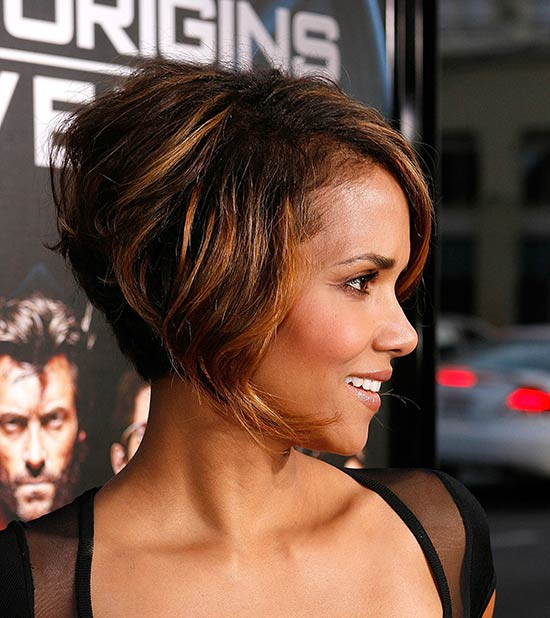 Halle Berry Inverted Bob Haircuts