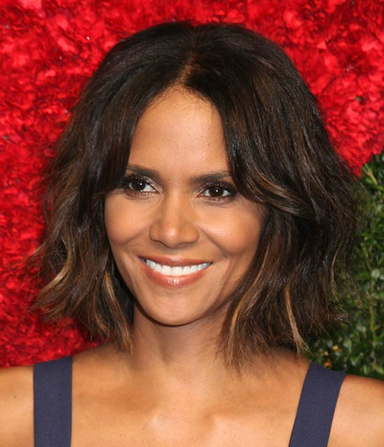Halle Berry Shaggy Bob Haircuts