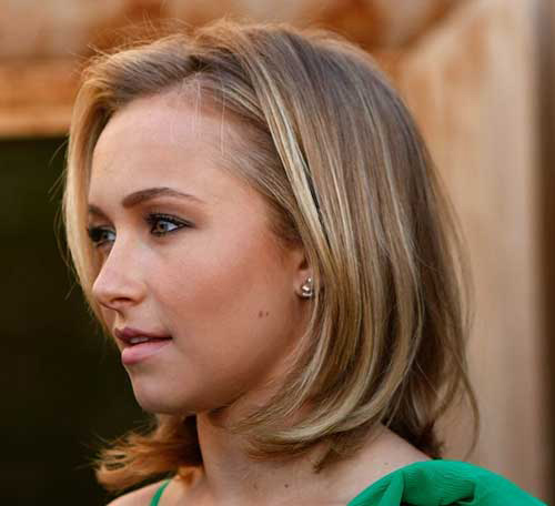 Hayden Panettiere Medium Bob Hairstyles