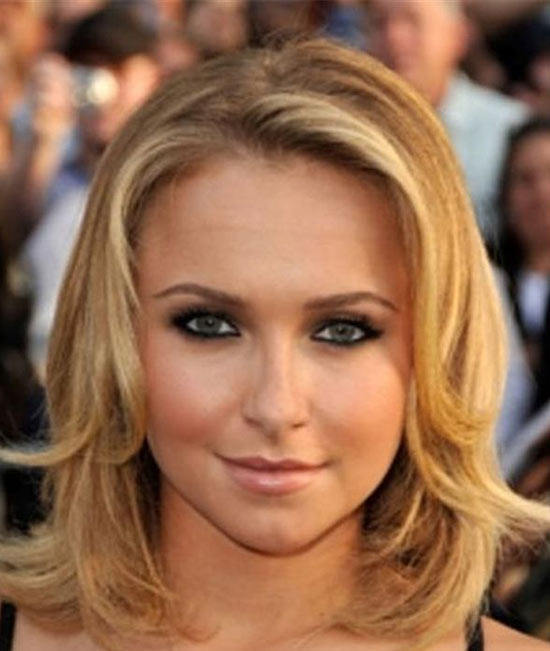 Hayden Panettiere Medium Layered Haircuts