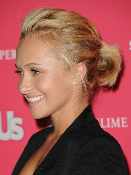 Hayden Panettiere Short Ponytail