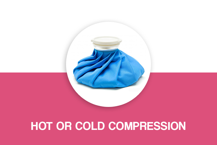 hot or cold compress for razor bumps