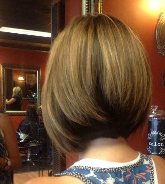 Isla Fisher Inverted Bob Haircuts