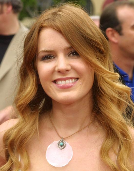 Isla Fisher Medium Curly Hairstyles