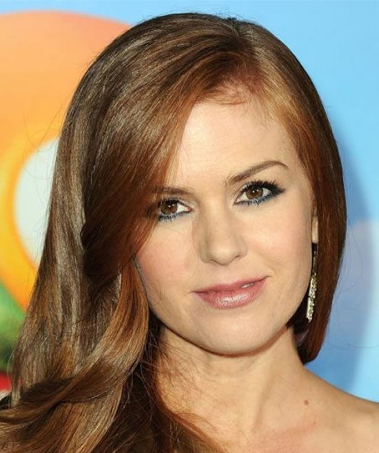 Isla Fisher Medium Layered Haircuts