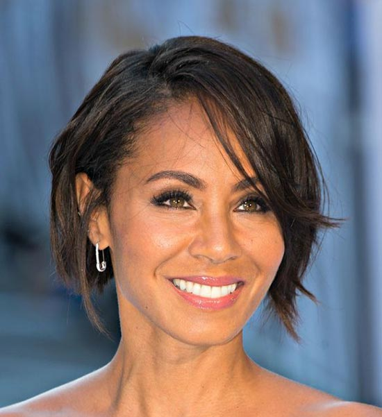 Jada Pinkett Smith Graduated Bob Haircuts