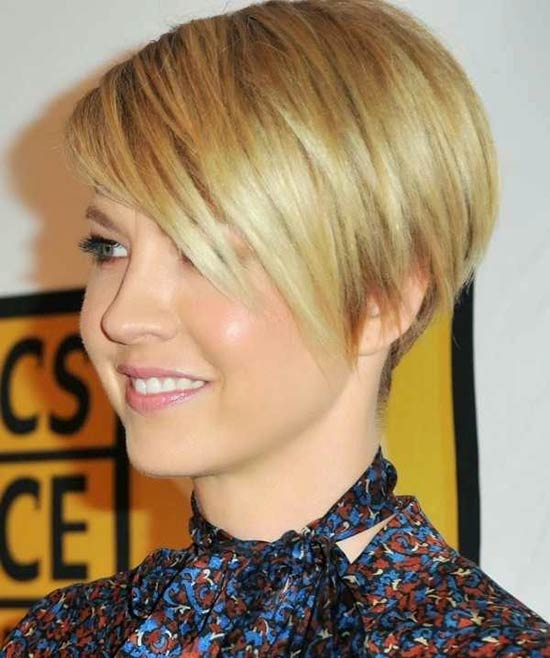 Jenna elfman Inverted Bob Haircuts