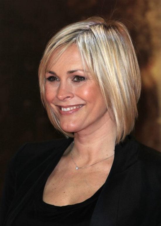 Jenni-Falconer Angled Bob Hairstyle