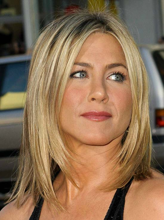 Jennifer Aniston Long Bob Hairstyles