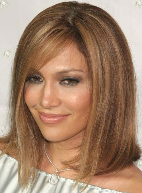 Jennifer Lopez Medium Bob Hairstyles