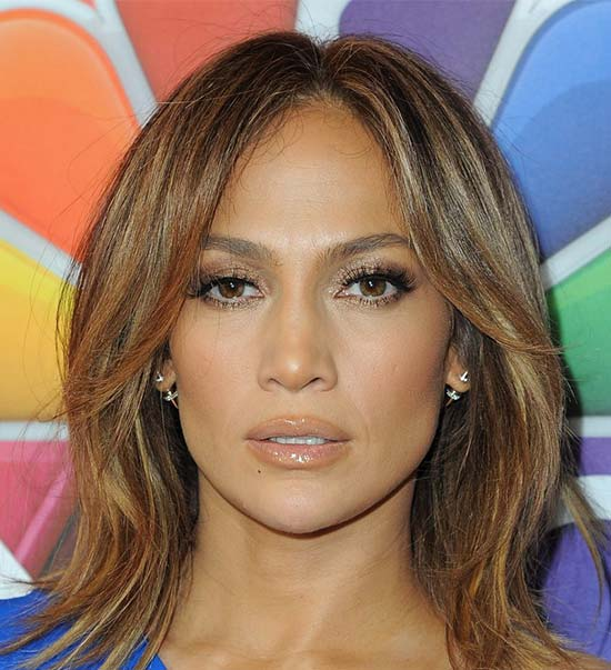 Jennifer Lopez Medium Layered Haircuts