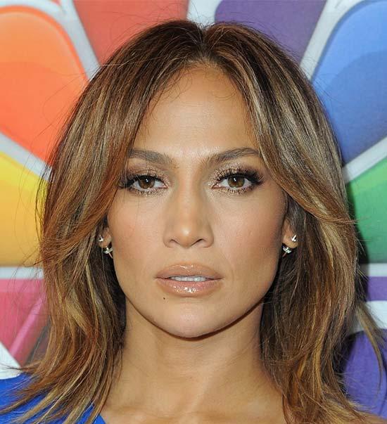 Jennifer Lopez Medium Layered Haircuts
