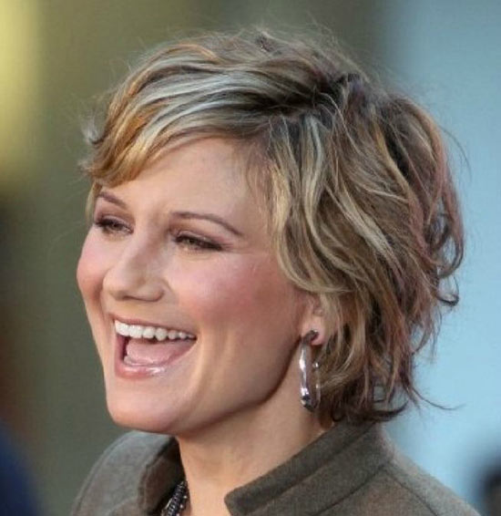 Jennifer Nettles Layered Bob HairStyles