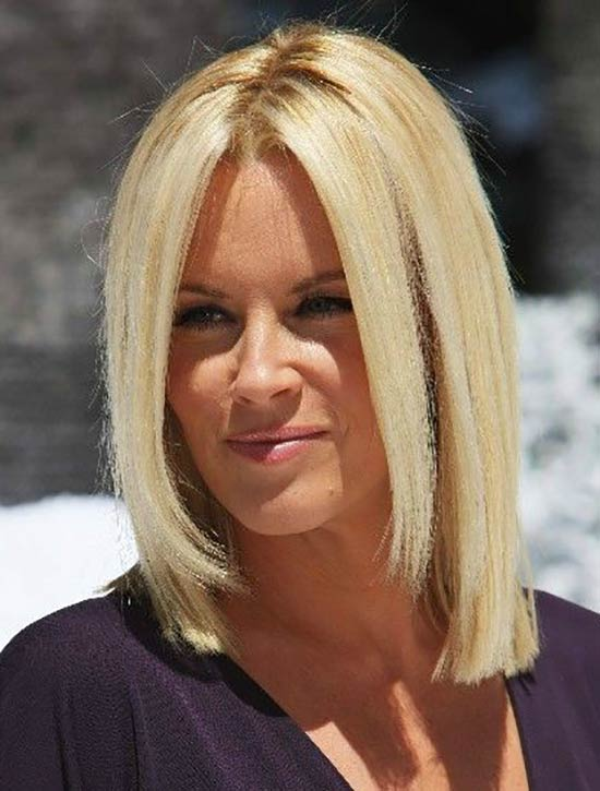 Jenny McCarthy Blunt Bob Hairstyls