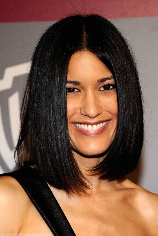 Julia Jones Blunt Bob Hairstyles