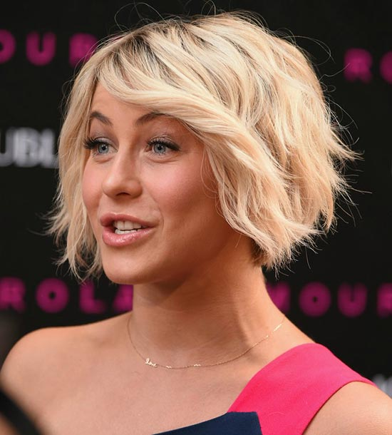 Julianne Hough Bob Haircuts for Fine Hair