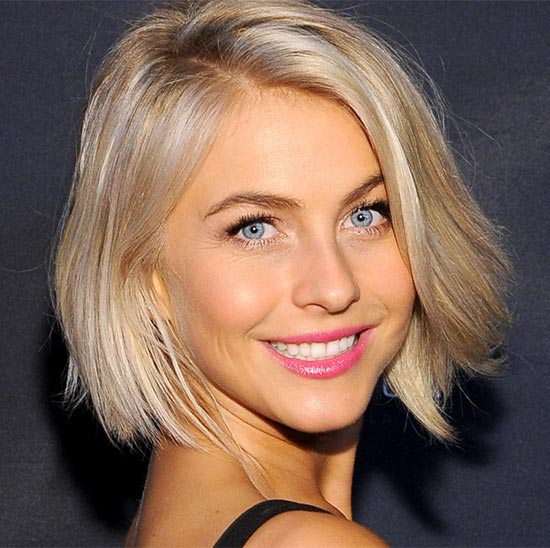 Julianne Hough Graduated Bob Haircuts