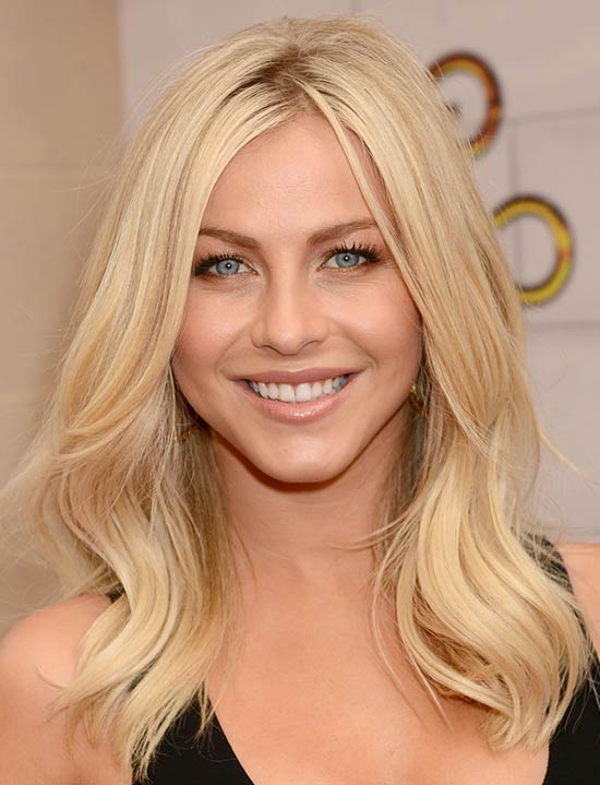 Julianne Hough Medium Blonde Hairstyles