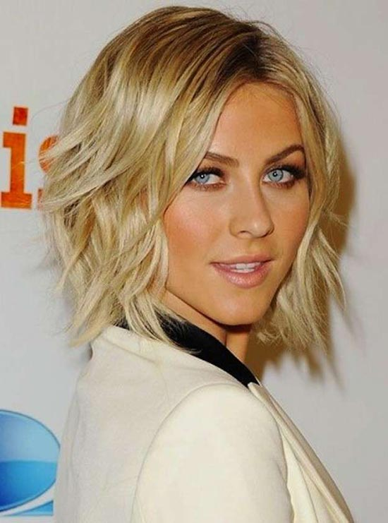 Julianne Hough Shaggy Bob Haircuts