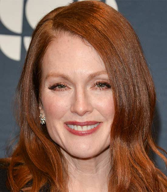 Julianne Moore Medium Red Hairstyles