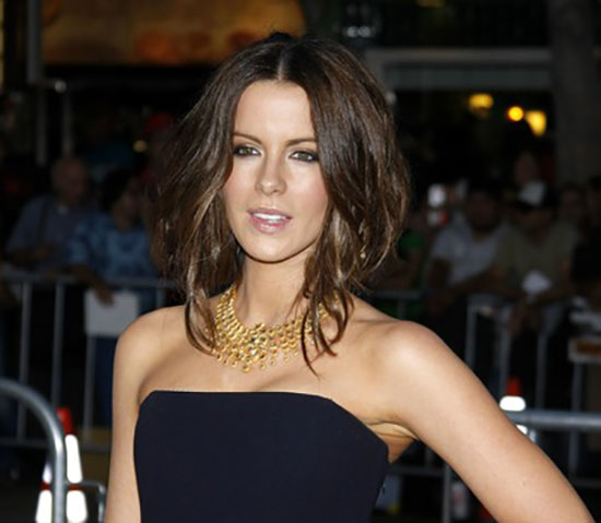 Kate Beckinsale Inverted Bob Haircuts