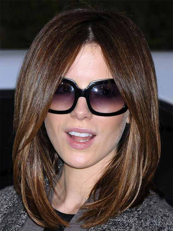 Kate Beckinsale Medium Hairstyles for Women