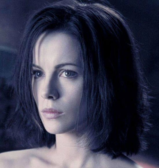 Kate Beckinsale Messy bob haircuts