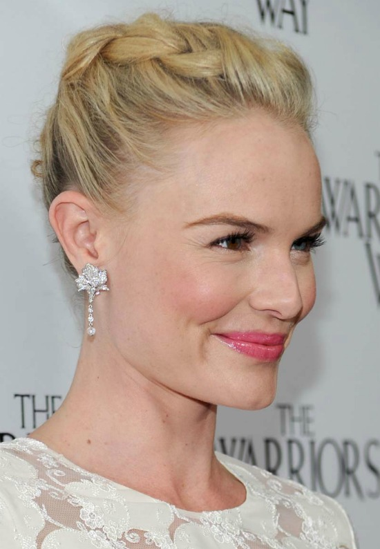Kate Bosworth Chic Braided Updo