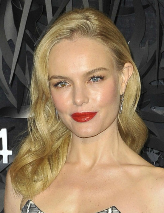 Kate Bosworth Long Side Swept Hairstyle