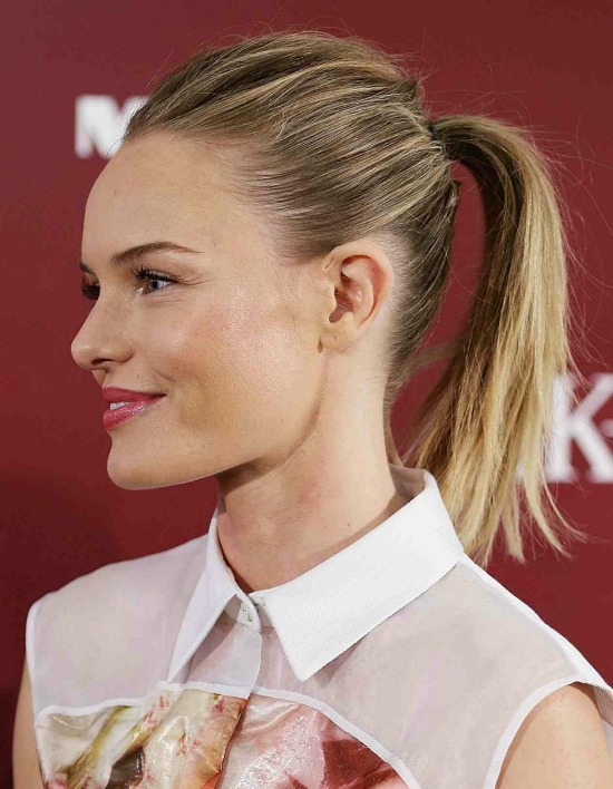 Kate Bosworth Medium Ponytail Hairstyle
