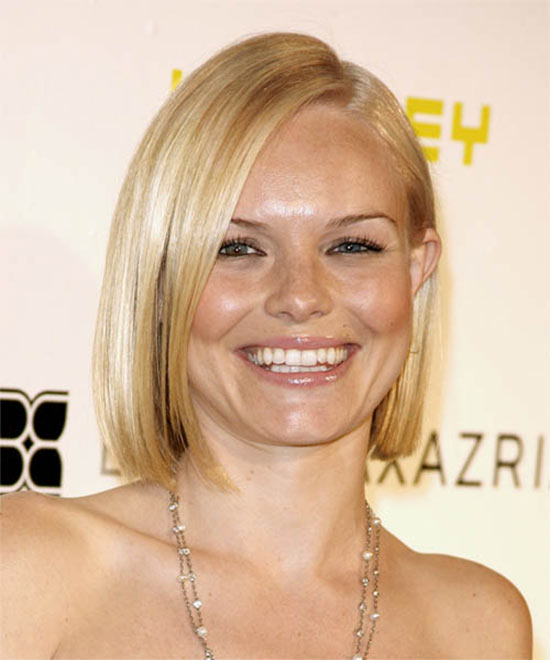 Kate Bosworth Medium Straight Hairstyles