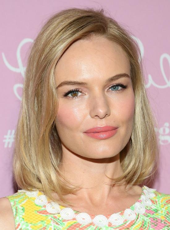 Kate Bosworth Shoulder Length Bob Haircut