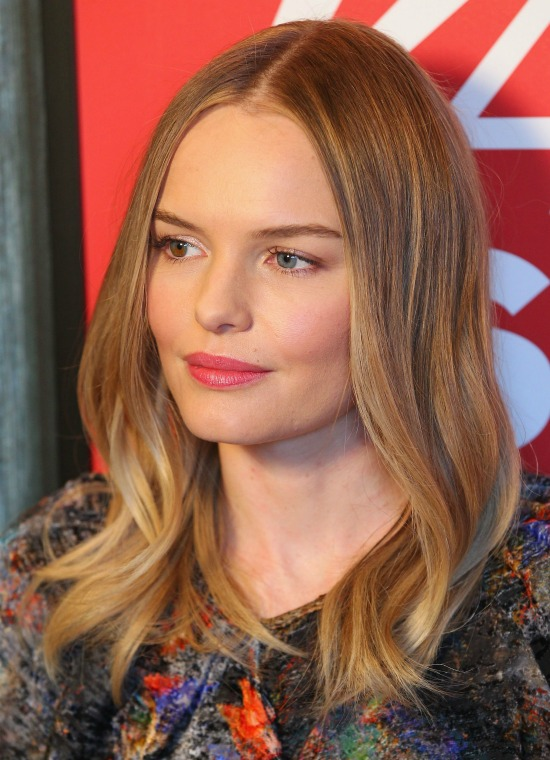 Kate Bosworth Shoulder Length Wavy Hairstyle