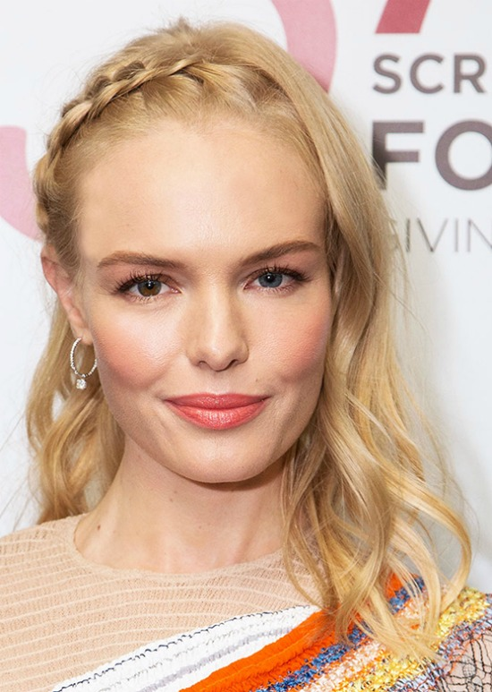 Kate Bosworth Side Crown Braid