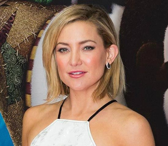 Kate Hudson Bob Haircuts for Fine Hair