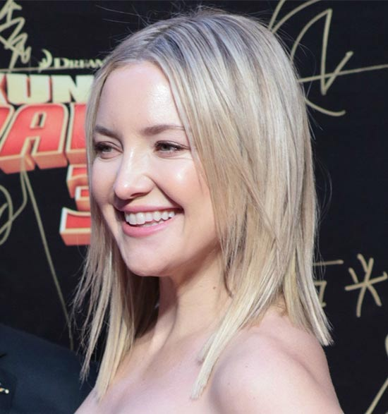 Kate Hudson Inverted Bob Haircuts