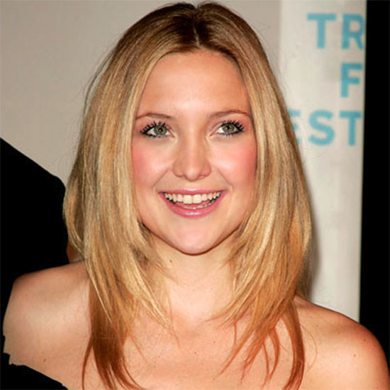 Kate Hudson Medium Straight Hairstyles