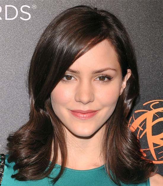 Katharine Mcphee Medium Hairstyles for Women