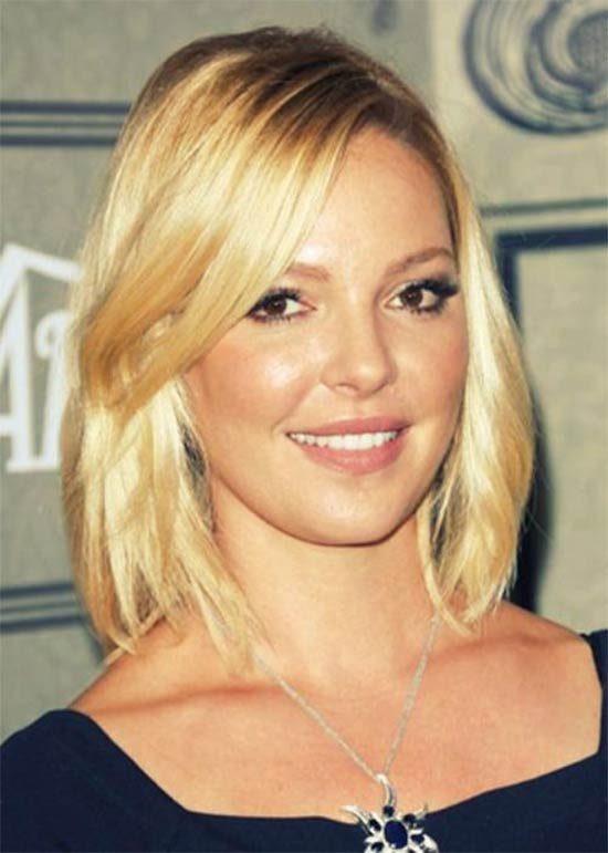 Katherine Heigl Medium Blonde Hairstyles