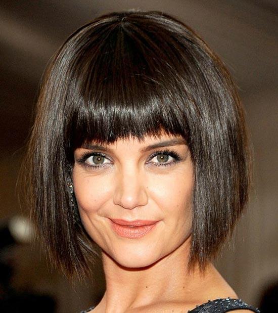 Katie Holmes Blunt Bob Hairstyles