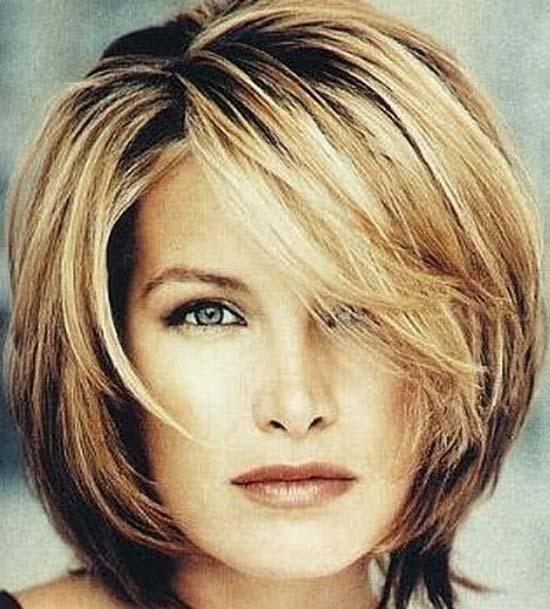 Katrina-Bowden Choppy Bob Hairstyles