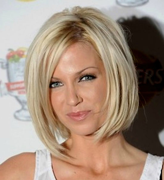 Katrina Bowden Inverted Bob Haircuts