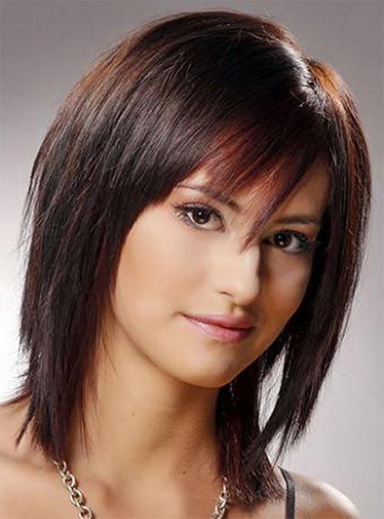 Katrina Bowden Medium Shag Haircuts
